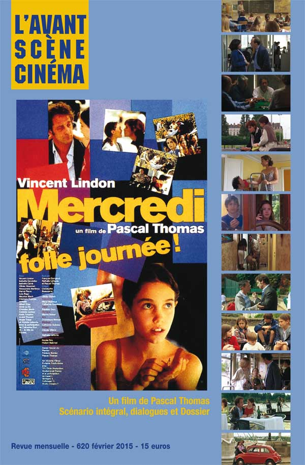 Avant-Scène Cinéma Numéro 620 - Mercredi Folle journée - Couverture