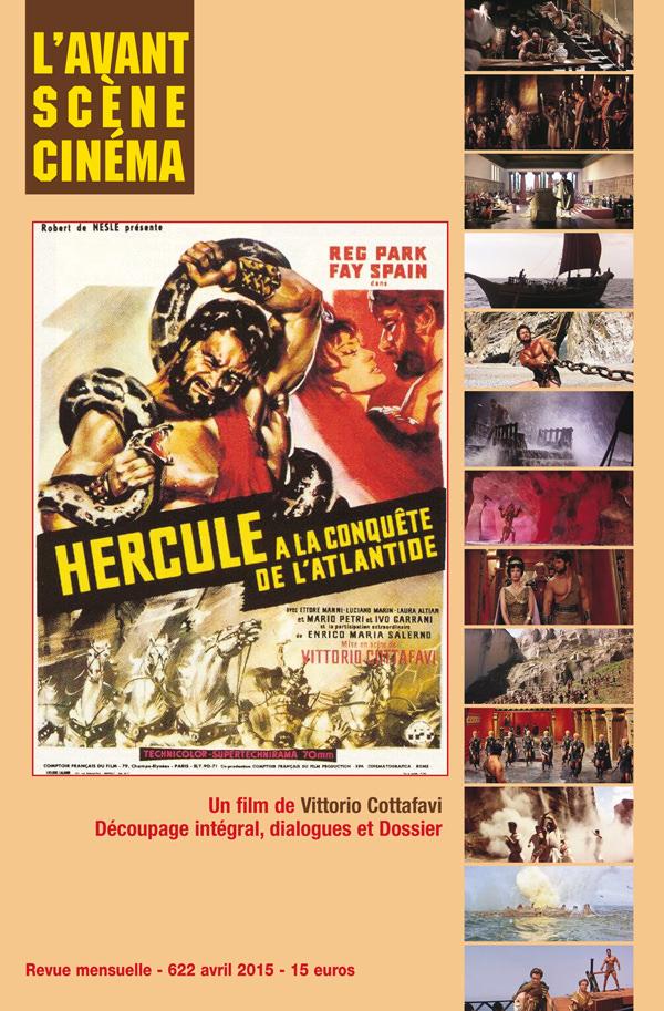Avant-Scène Cinéma N°622 - Hercule à la conquête de l'Atlantide de Vittorio Cottafavi - Couverture