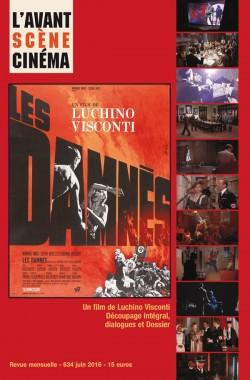 Couverture Les damnés - Avant-Scène Cinéma 634