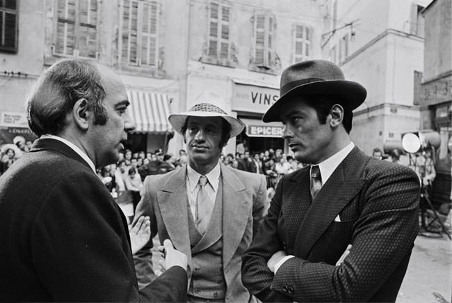 "00/00/1970. ""BORSALINO"": TOURNAGE PAR JACQUES DERAY"