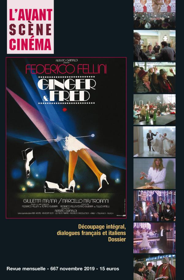 Couverture du numéro 667 de l'Avant-Scène Cinéma sur Ginger et Fred de Federico Fellini