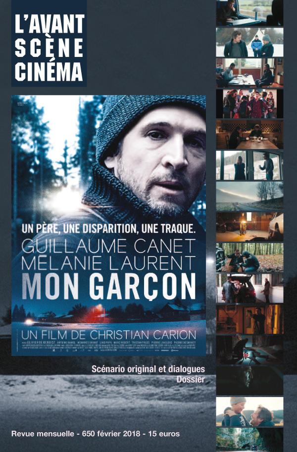 Couverture Avant-Scène Cinéma 650 Mon garçon Christian Carion