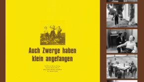 Couverture Numéro 653 Avant-Scène Cinéma Les Nains aussi ont commencé petits de Werner Herzog