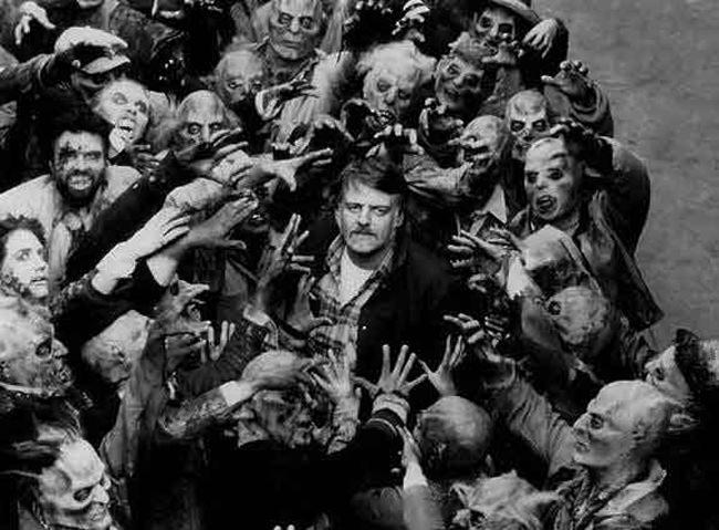 Georges Romero Avant-Scène Cinéma Numéro 619 La nuit des morts vivants Tournage
