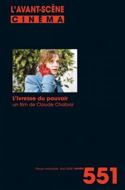 COUV. 551 L'IVRESSE