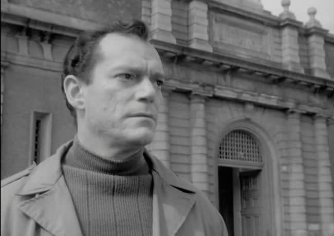eddie constantine dans Repris de Justice de Vittorio Cottafavi