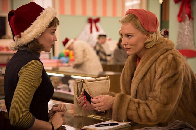 rooney mara et cate blanchett dans Carol Critique Avant Scène Cinéma