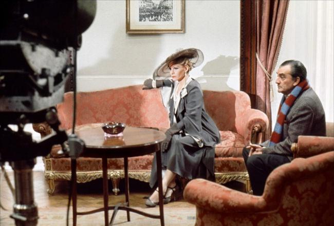 Luchino Visconti sur le tournage de Les Damnés 2