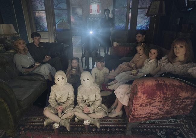 Une scène du film de Tim Burton Miss Peregrine et les enfants particuliers