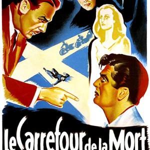 Affiche classique Hollywood : Le Carrefour de la mort d'Henry Hathaway