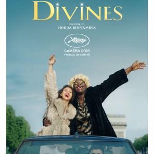 "Affiche de ""Divines"" de Houda Benyamina"