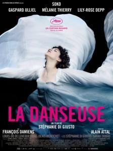"""Affiche de """"La danseuse"""" de Stéphanie Di Giusto"""