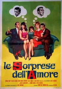Affiche de Les suprises de l'amour de Luigi Comencini