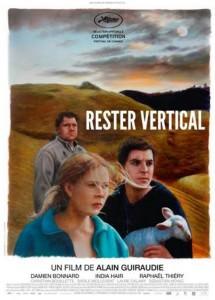 "Affiche du film d'Alain Guiraudie, ""Rester vertical"""