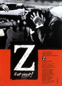 Affiche de Z de Costa-Gavras