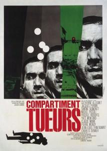 Affiche de Compartiment Tueurs de Costa)Gavras