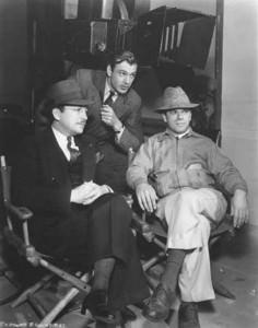 """Frank Capra sur le tournage de L""""homme de la rue"""