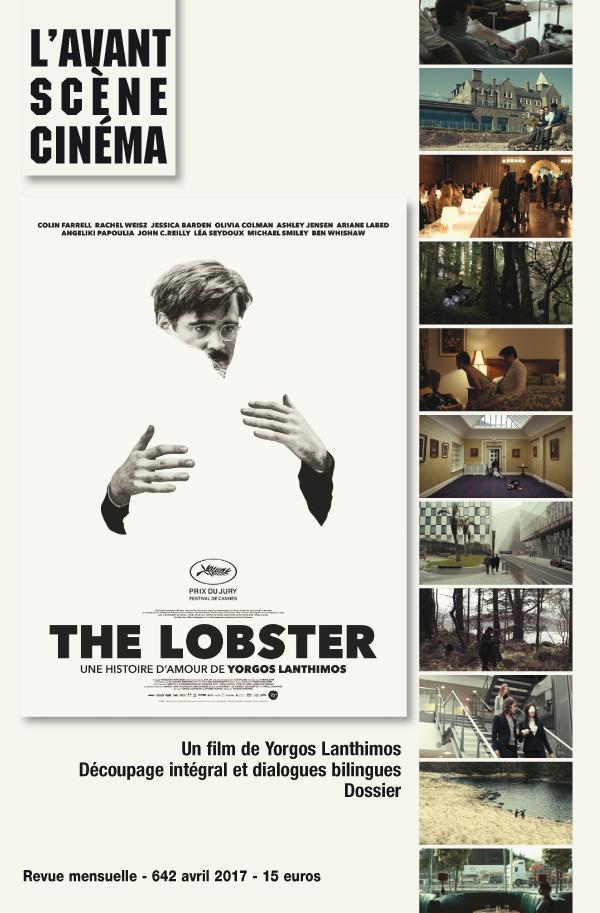 Couverture du numéro 642 de l'Avant-Scène Cinéma sur The Lobster de Yorgos Lanthimos