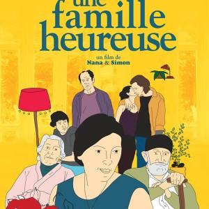 Affiche Une famille heureuse de Nana Ekvtimishvili