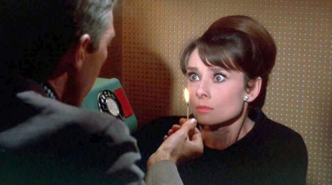 Audrey Hepburn dans Charade de Stanley Donen
