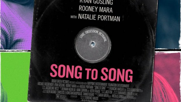 Affiche du film de Terrence Malick, Song to song