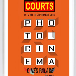 Affiche du festival de courts-métrages, Regards sur courts à Epinal