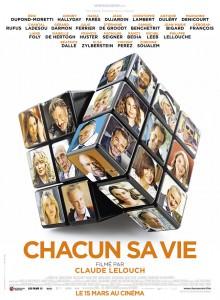 Affiche de Chacun sa vie de Claude Lelouch