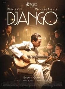 Affiche Django d'Etienne Comar