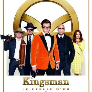 Affiche Kingsman : le cercle d'or de Matthew Vaughn