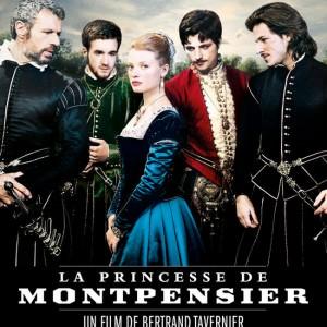 Affiche La Princesse de Montpensier de Bertrand Tavernier pour le ciné club de l'ASC au Cinéma Saint André des Arts
