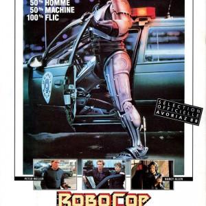 Affiche Robocop de Paul Verhoeven