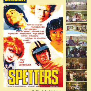 Couverture du numéro 647 de l'Avant-Scène Cinéma sur Spetters de Paul Verhoeven