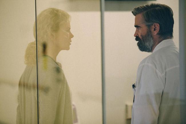Colin Farrell et Nicole Kidman dans Mise à mort du cerf sacré de Yorgos Lanthimos