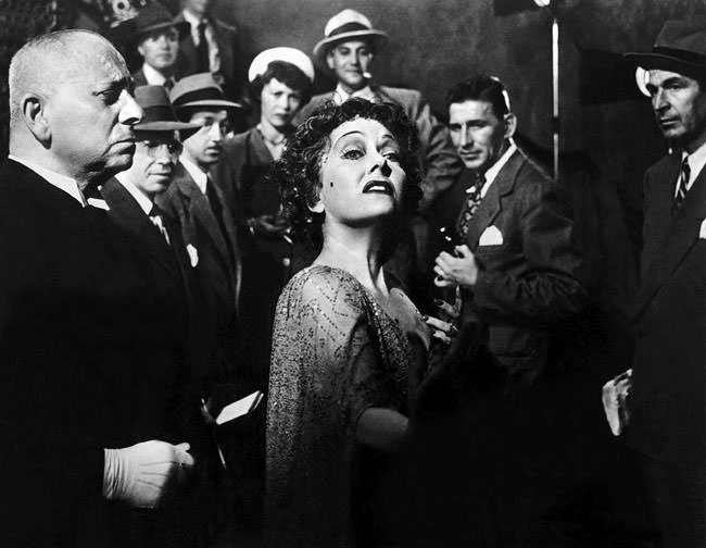 Gloria Swanson dans Sunset Boulevard de Billy Wilder