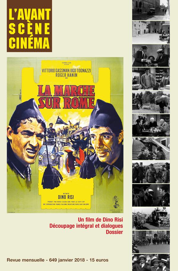Couverture du Numéro 649 de l'Avant-Scène Cinéma à propos de La Marche sur Rome de Dino Risi
