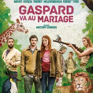 Affiche de Gaspard va au mariage d'Antony Cordier