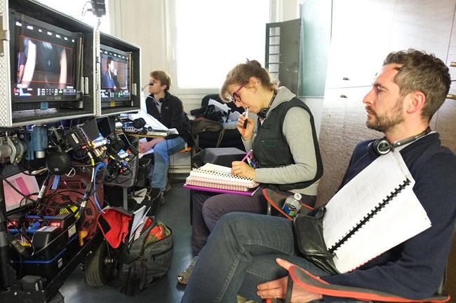 Xavier Legrand sur le tournage de Jusqu'à la garde