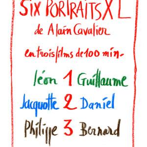 Six portraits XL d'Alain Cavalier