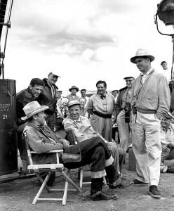 Anthony Mann et James Stewart sur le tournage de Winchester 73 - Dossier Avant-Scène Cinéma 660