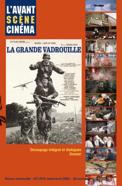 Couverture numéro 671-672 de l'Avant-Scène Cinéma à propos de La grande vadrouille de Gérard Oury