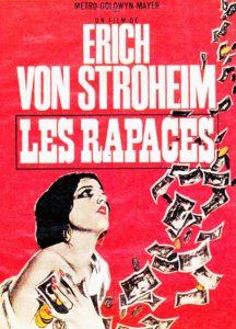 Les Rapaces Eric Von Stroheim Avant-Scène Cinéma 682