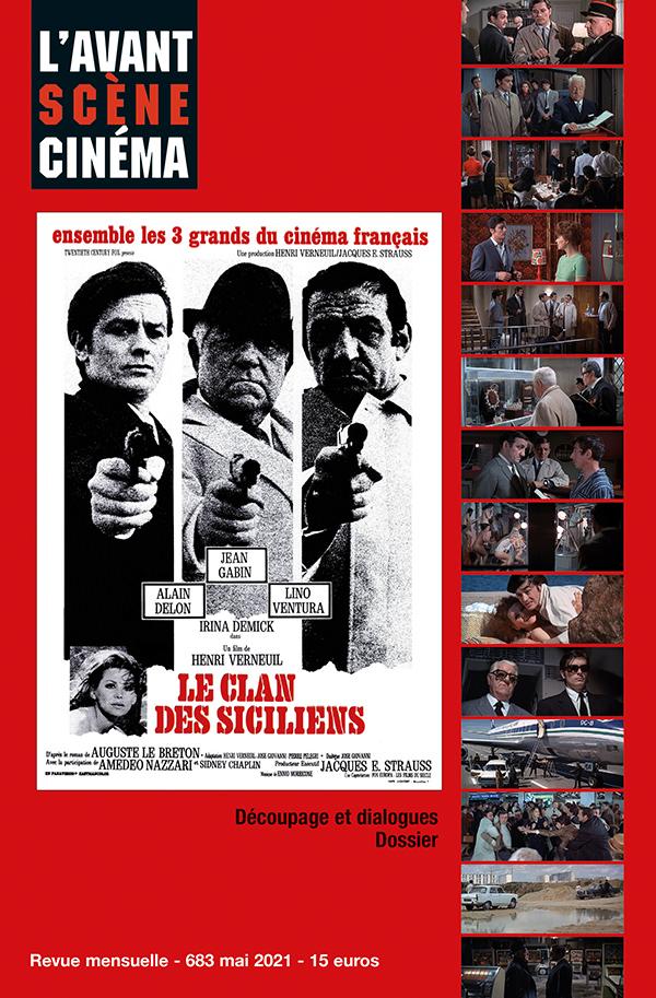 Couverture du numéro 683 de l'Avant-Scène Cinéma - Le Clan des Siciliens de Henri Verneuil