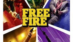 Affiche de Free Fire de Ben Wheatley