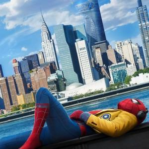 Affiche de Spiderman Homecoming de Jon Watts