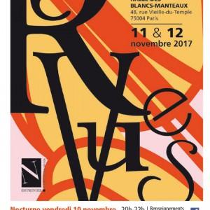 Affiche de l'édition 2017 du Salon de la Revue