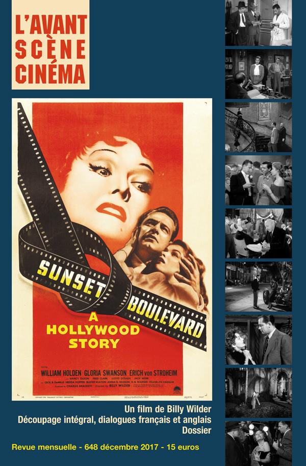 Couverture Sunset Boulevard de Billy Wilder - Numéro 648 Avant-Scène Cinéma