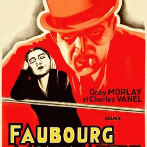 Affiche de Faubourg Montmartre de Raymond Bernard