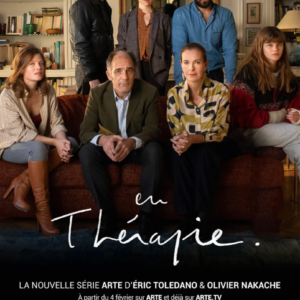 Affiche En thérapie d'Olivier Nakache et Eric Tolédano